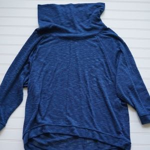 Sz M Old Navy Soft Cowl Neck Sheer Sweater